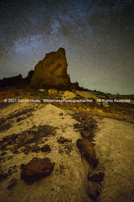 Nightscape in Volcano Country