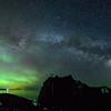 Aurora and Milky Way over Minnesota's North Shore 01