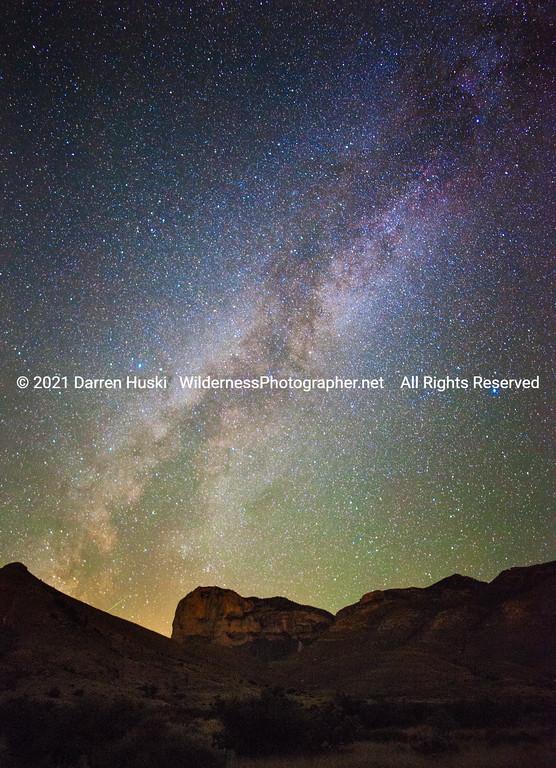 el Cap and Milky Way in late summer