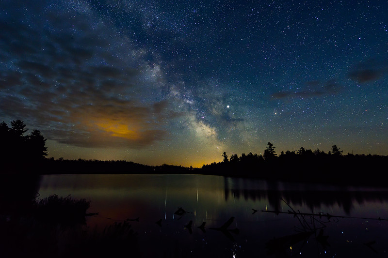 Milky Way over Helen Lake 01