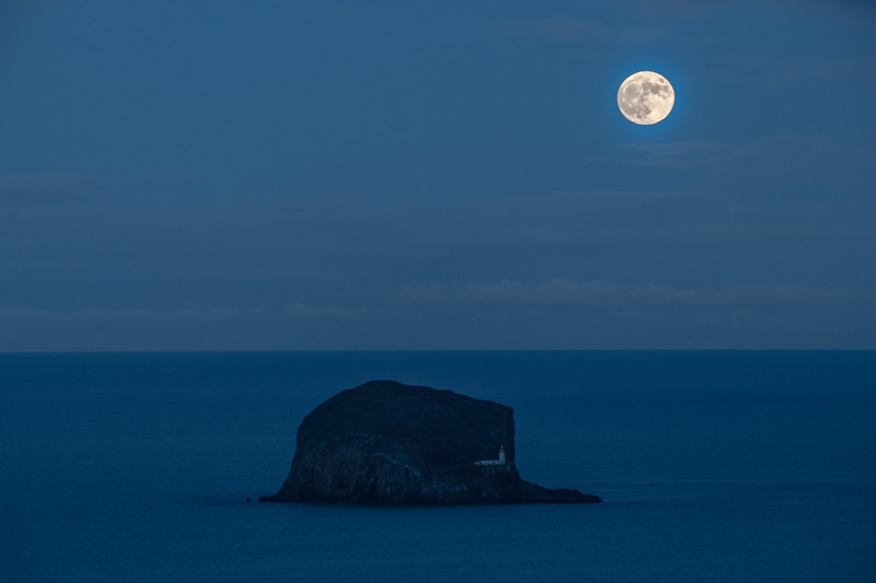 Blue Moon Rock - Bass Rock, Scotland