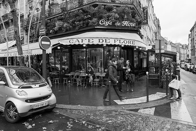 Café de Flore ...an institution serving philosophers, artists and other lost souls since 1887