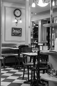 In the brasserié