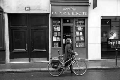 Narrow bookshop for broad minds