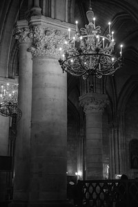 In Notre Dame cathedral