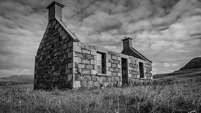 Abandoned raiders settlement, Vatersay, Outer Hebrides