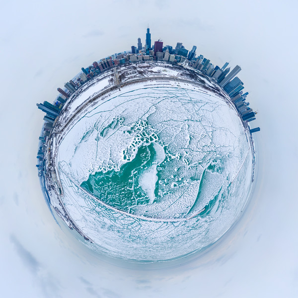 360 Degrees of Cold - Chicago in Winter