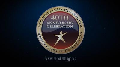 Teen Challenge 40th Anniversary Celebration