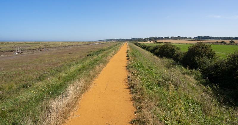 Walk From Morston Quay to Blakeney, Norfolk (Sep 2021)