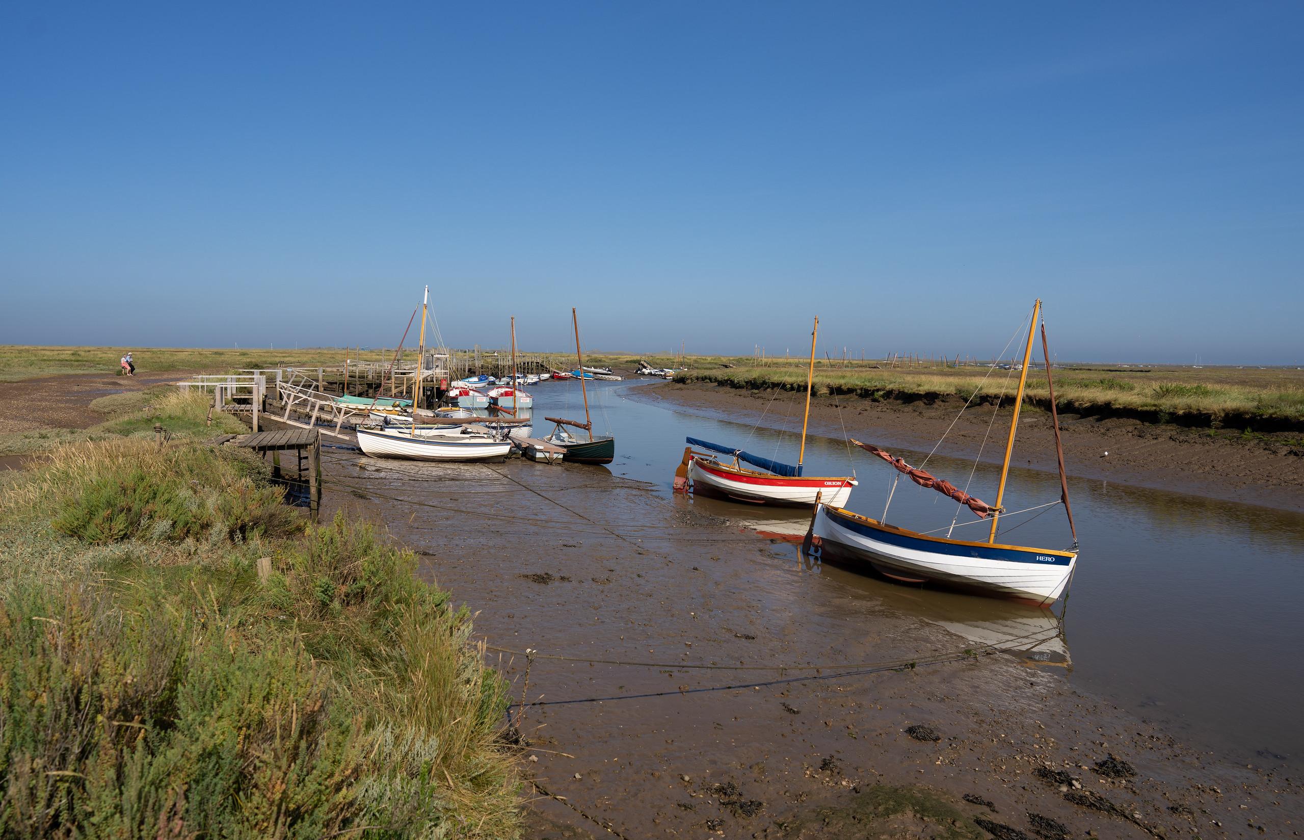 Morston Quay, Norfolk (Sep 2021)