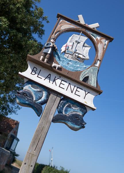 Blakeney Sign, Norfolk (Sep 2021)