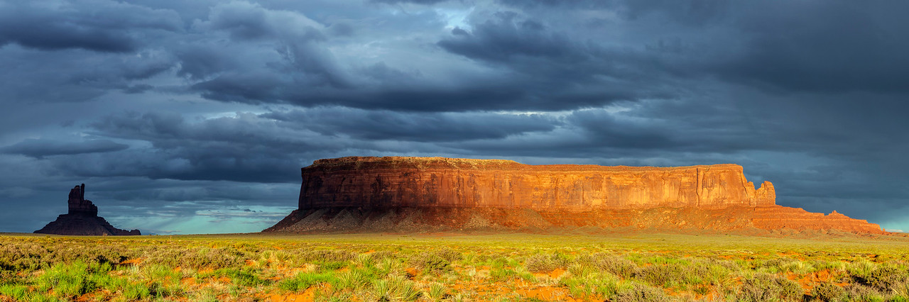 Monument Valley Region Sunrise