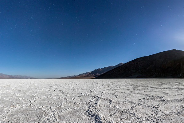 Badwater Basin by Moonlight