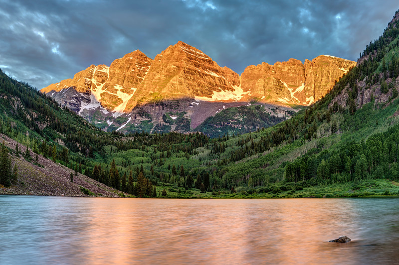 Summer Sunrise at the Maroon Bells