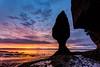 Sunrise at Hopewell Rocks
