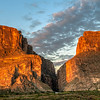 Sunrise at Santa Elena Canyon