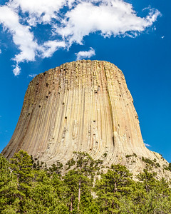 Afternoon at Devils Tower