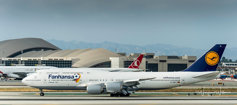Fanhansa Boeing 747 Airliner