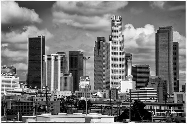 Downtown Los Angeles (From the east)
