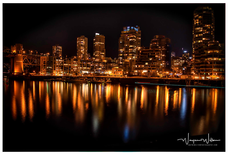 Vancouver from Granville island.