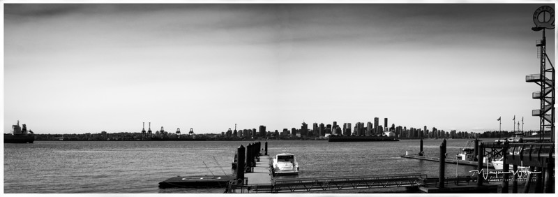 Vancouver from the North shore