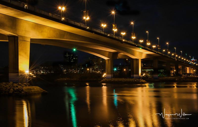 The Bridge Over False Creek