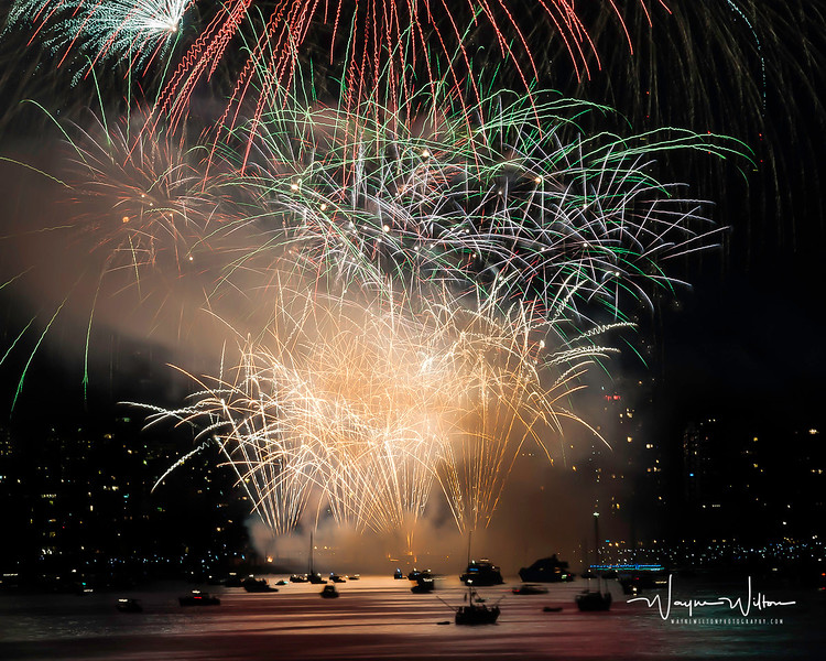 Fireworks In EnglishBay 1