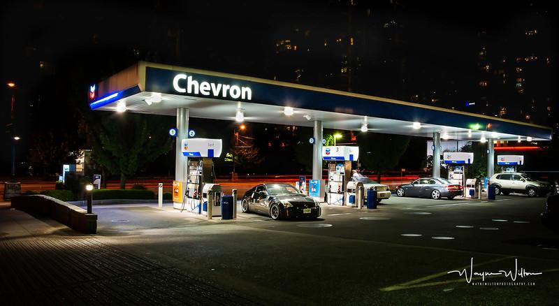 Chevron at Night