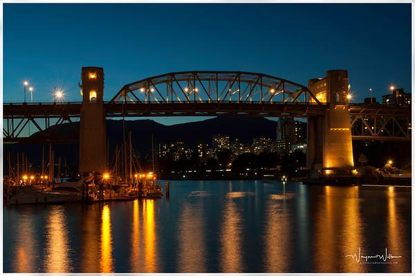Burrard Bridge In The Evening