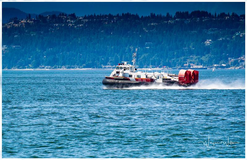 The Coast Guard in English Bay