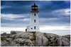 Ligthouse at Peggy's Cove N.S.