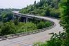Linn Cove Viaduct in the Summer