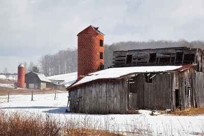 Old Barns, Houses & Churches