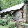 Blue Ridge Parkway Log Cabin