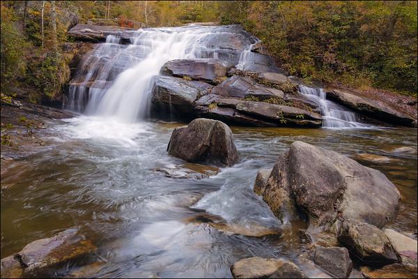 Wintergreen Falls, NC.