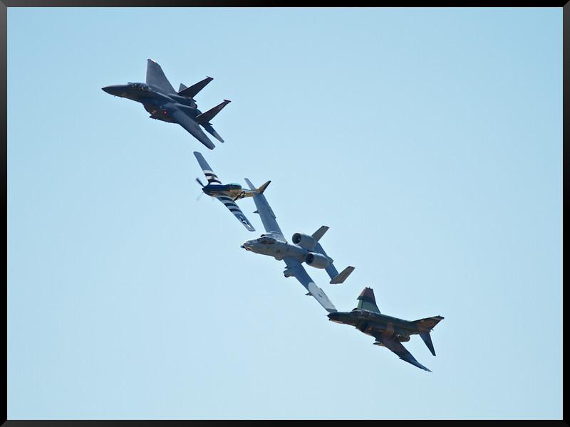 ACC Heritage P-51| A-10 | F-4 | F-15E
