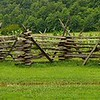 Split Rail Fence, Great Smoky Mountains National Park, North Carolina