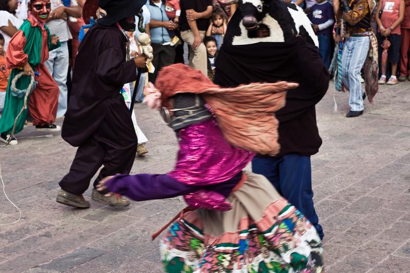 La Danza del Torito, Guanajuato, Mexico.