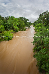 Flood Waters on the Nolan river