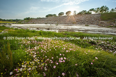 Spring Sunset on the Trinity River