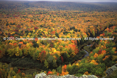 Carp River Overlook in the Michigan UP.
