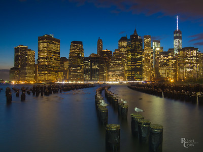 Lower Manhattan Nightfall
