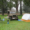 Early morning Sunday at the Urbenville public camping area