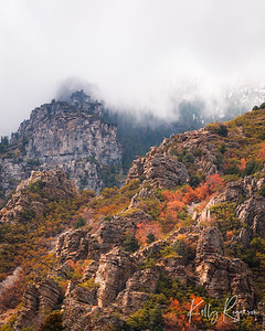 High in the Clouds - Utah Mountains