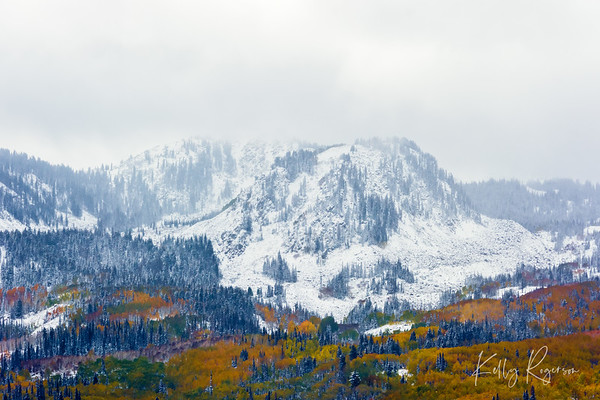 Stormy Mountain Tops