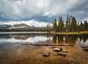 A day at Mirror Lake, Utah.