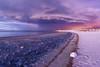 Intense Storm On The Beach