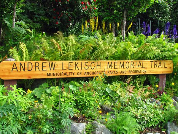 Andrew Lekisch Memorial Trail in Anchorage, Alaska (1)