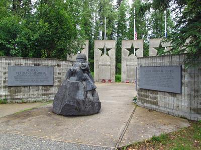 Denali State Park, Alaska (Alaska Veterans Memorial)