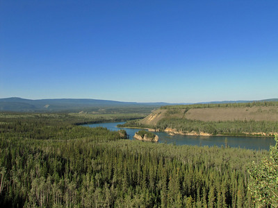 Five Fingers Rapids Recreation Site in the Yukon Territory, Canada (Klondike Highway) (2)